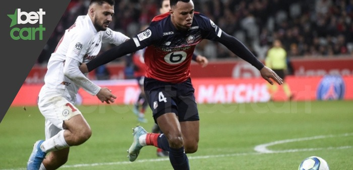 فوتبال لیگ فرانسه ( لیل - مون پلیه )