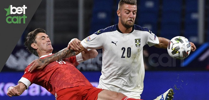 فوتبال مقدماتی جام جهانی ( صربستان - ایرلند )