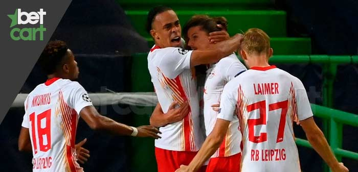 فوتبال بوندسلیگا آلمان ( لایپزیگ - آگسبورگ )