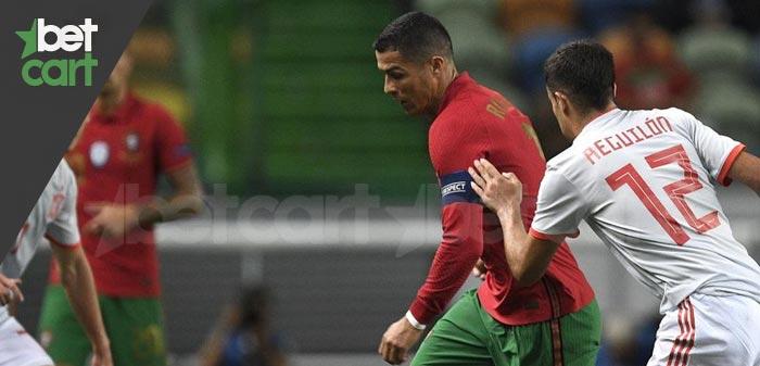 فوتبال مقدماتی جام جهانی ( پرتغال - آذربایجان)