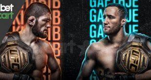 مسابقه UFC | رویارویی عقاب داغستان و ستاره آریزونا در ابوظبی