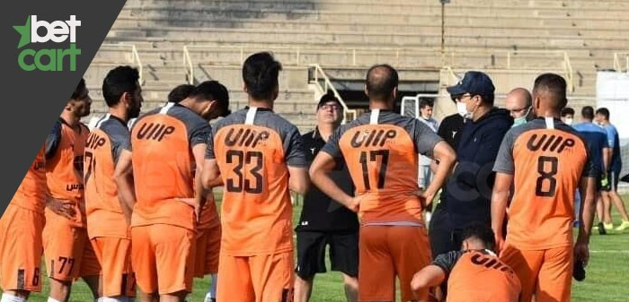 فوتبال لبگ ایران ( مس رفسنجان - نفت مسجدسلیمان )