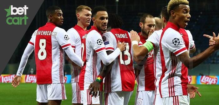 فوتبال لیگ اروپا ( رم - آژاکس )