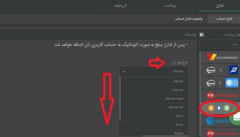 رمز ارز کریپتو در سایت بتکارت
