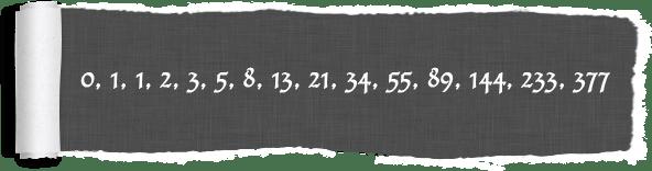 Fibonacci numbers فیبوناچی